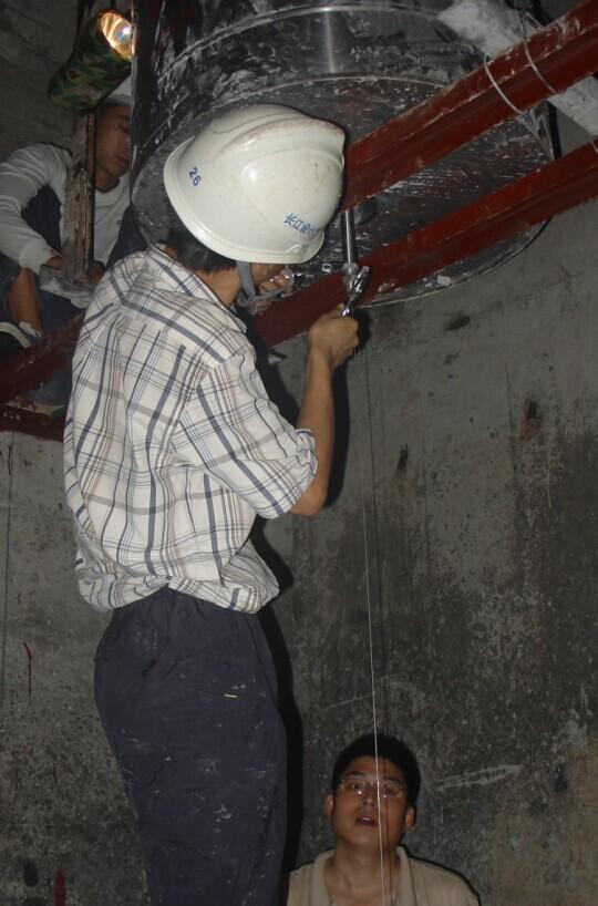 监测照片-乌江彭水水电站安全监测施工照片